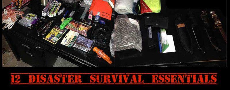 12 disaster survival essentials