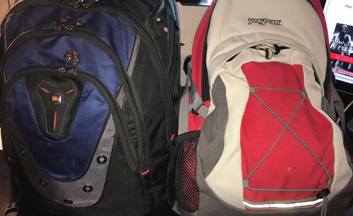 my bug out bags